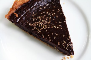 Chocolate and Anise Champurrado Tart