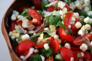 Tomato Scallion Salsa
