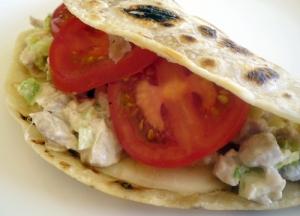 Tuna Melt - Mexican Style