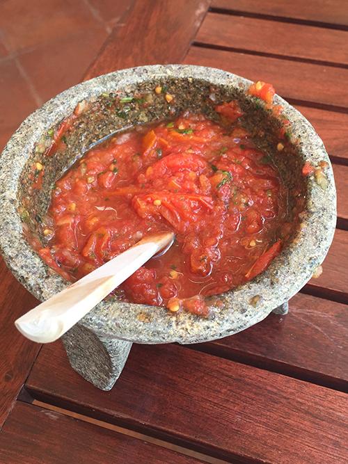 Salsa de Molcajete